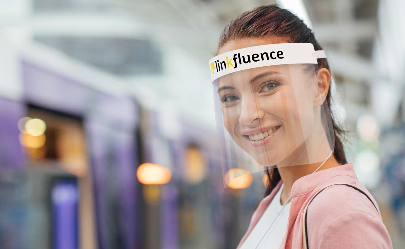 Barrier - Personaliserte ansiktsskjermer