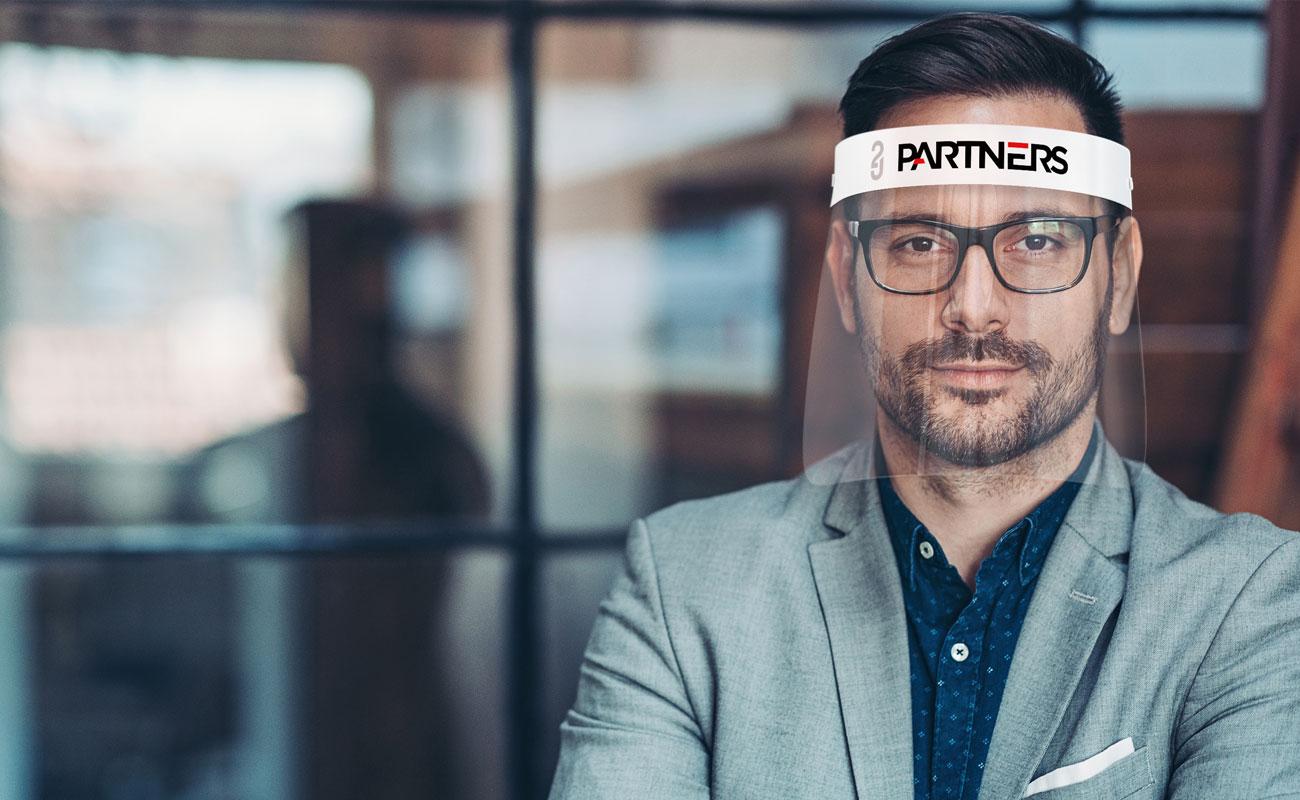 Barrier - Personalisert ansiktsskjerm