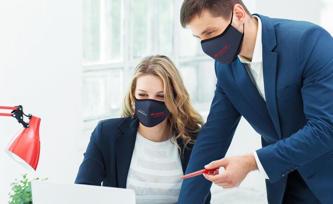 Denim - Ansiktsmaske med logo