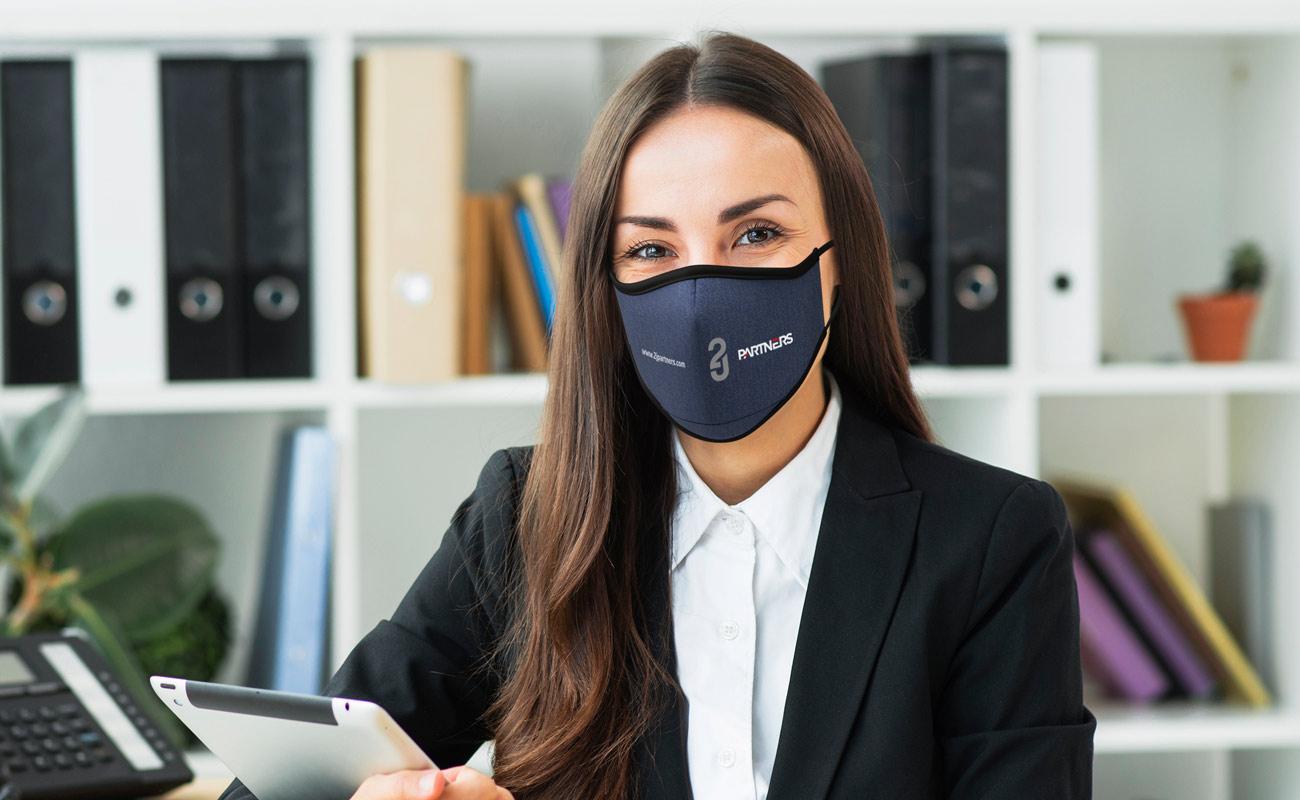 Denim - Trykket ansiktsmasker