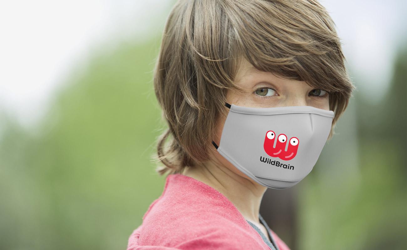 Junior - Skreddersydde beskyttende tøymunnbind