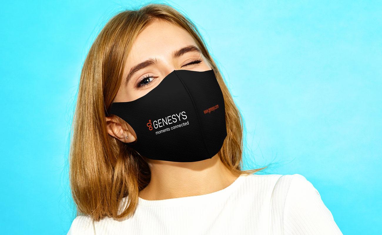 Neo - Beskyttende tøymunnbind med logo