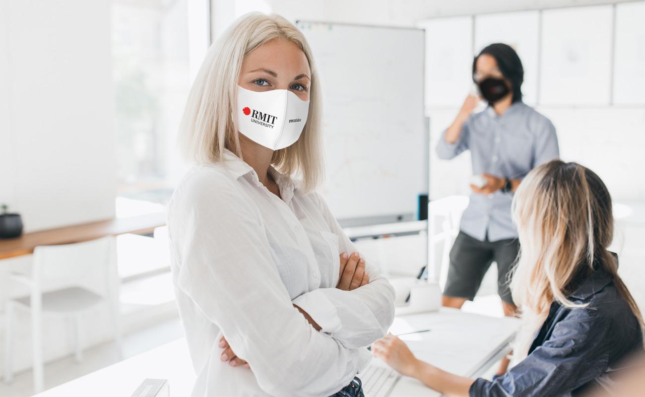 Neo - Ansiktsmaske med logo