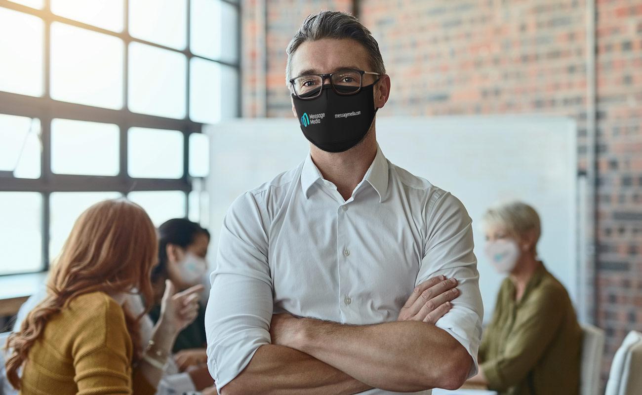 Sky - Trykket ansiktsmasker