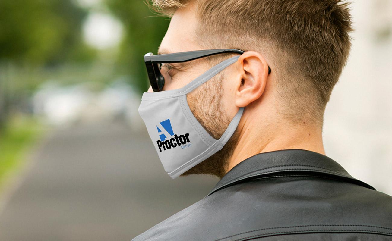 Ultra - Skreddersydde beskyttende tøymunnbind
